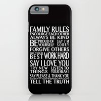 Family Rules iPhone 6 Slim Case