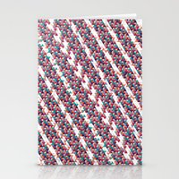 Funfetti Stripes Stationery Cards