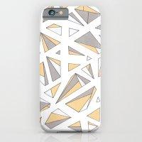 Refracted Diamond - Yell… iPhone 6 Slim Case