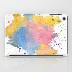 RAINBOW SPLATTER iPad Case