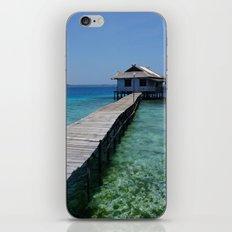 Secret house iPhone & iPod Skin