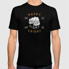 Fist Fight Friday Mens Fitted Tee Black SMALL