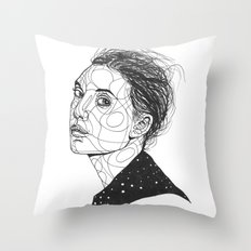 Lykke Li Throw Pillow