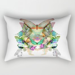 Rectangular Pillow - The fate of the butterfly - Eduardo Doreni