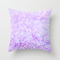 Sweetly Lavender Throw Pillow