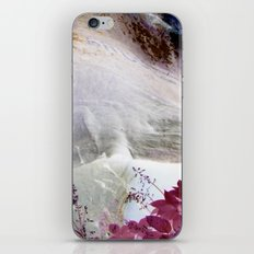 Red Erode iPhone & iPod Skin