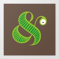 Et worm Canvas Print