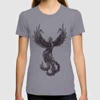 Phoenix Womens Fitted Tee Slate SMALL