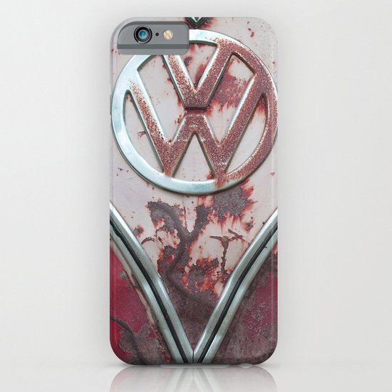 Pink Rusty VW iPhone & iPod Case