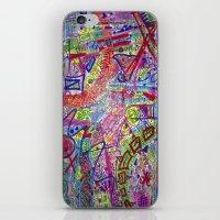 Brain Dump iPhone & iPod Skin