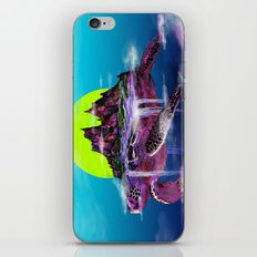 Turtle Paradise iPhone & iPod Skin