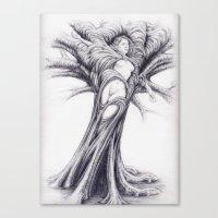 Driade 2 Canvas Print