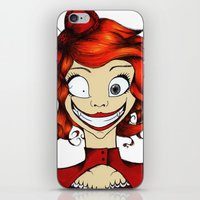 Little Mad Alice iPhone & iPod Skin