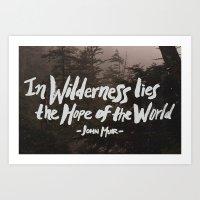 Wilderness Hope X John M… Art Print