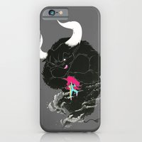 iPhone & iPod Case featuring Bullfighting by Anwar Rafiee