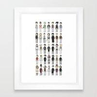 Depps Framed Art Print