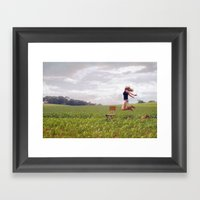Feel Free... Framed Art Print