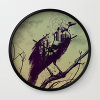 Calling of Death Wall Clock