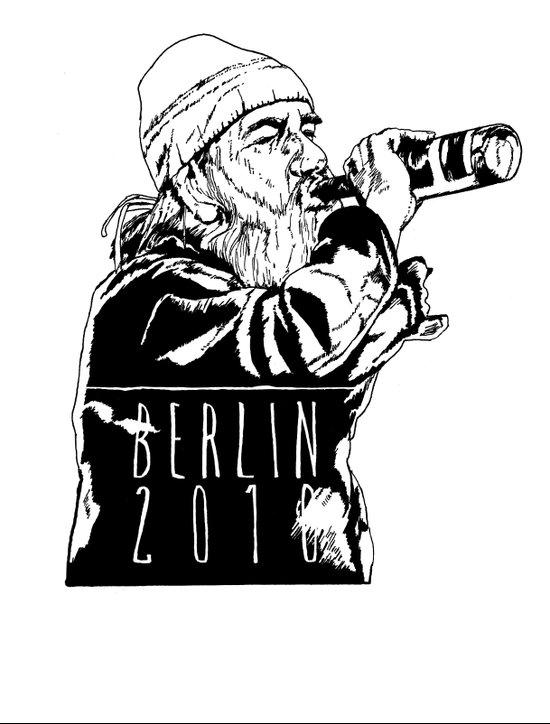 BERLIN 2010 Art Print