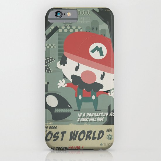 mario bros 4 fan art iPhone & iPod Case
