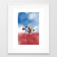 MINION LIFE: HAPPY FRIEND Framed Art Print