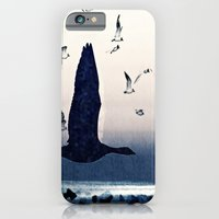 The goose and the seagulls iPhone 6 Slim Case