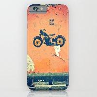 Motorcycle street art iPhone 6 Slim Case
