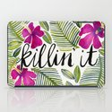 Killin' It – Tropical Pink iPad Case
