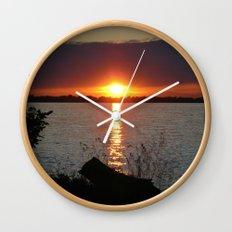 Sunset Brilliance Wall Clock