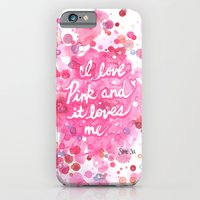Pink Love iPhone 6 Slim Case
