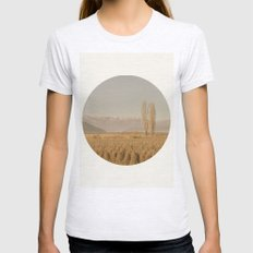 Landscape Womens Fitted Tee Ash Grey SMALL