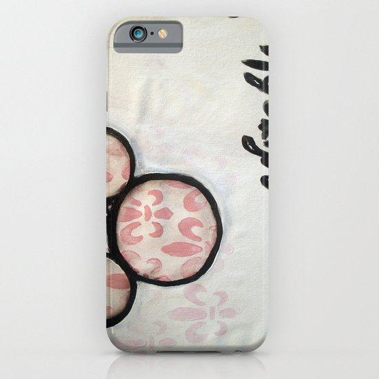 Adorable Mouse Fleur de lis Painting iPhone & iPod Case