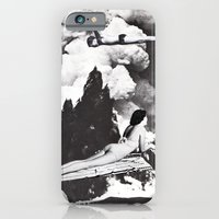 iPhone Cases featuring HAZE by Beth Hoeckel Collage & Design