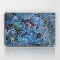 Frosted leaves Laptop & iPad Skin