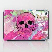 Skull collage iPad Case