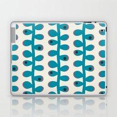 Like a Leaf [blue spots] Laptop & iPad Skin