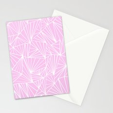 Ab Fan Pink Stationery Cards