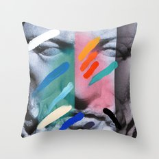 Composition On Panel 6 Throw Pillow
