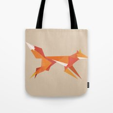 Fractal Geometric Fox Tote Bag
