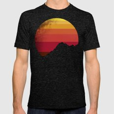 sandstorm Mens Fitted Tee Tri-Black SMALL