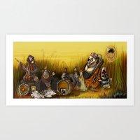 Monkeys Art Print