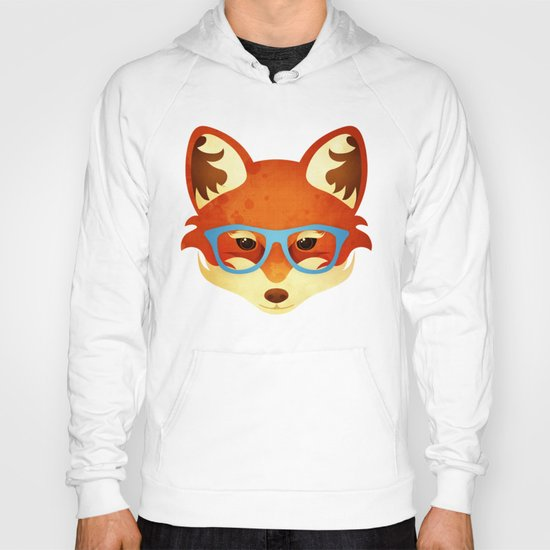 Hipster Fox Hoody