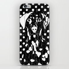 Dog and dot iPhone & iPod Skin
