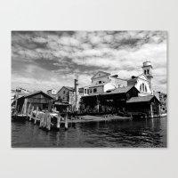 Squero San Trovaso Gondo… Canvas Print