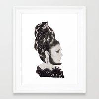 AYATOLLAH FARAH Framed Art Print
