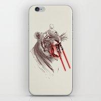Light Saber Tooth Tiger iPhone & iPod Skin