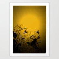 Dont Tame A King ~ Warmn… Art Print