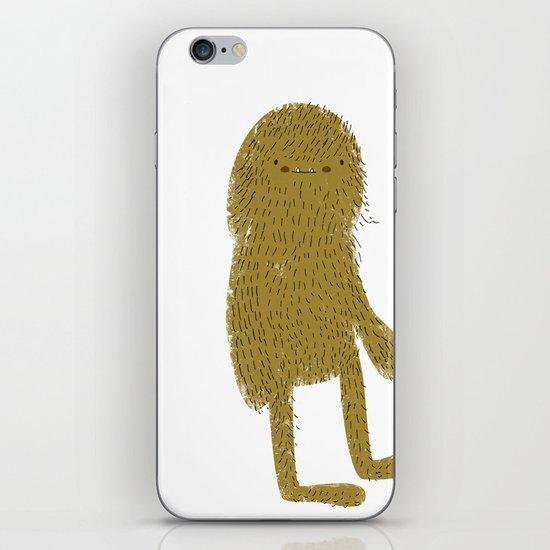 Sasquatch man iPhone & iPod Skin