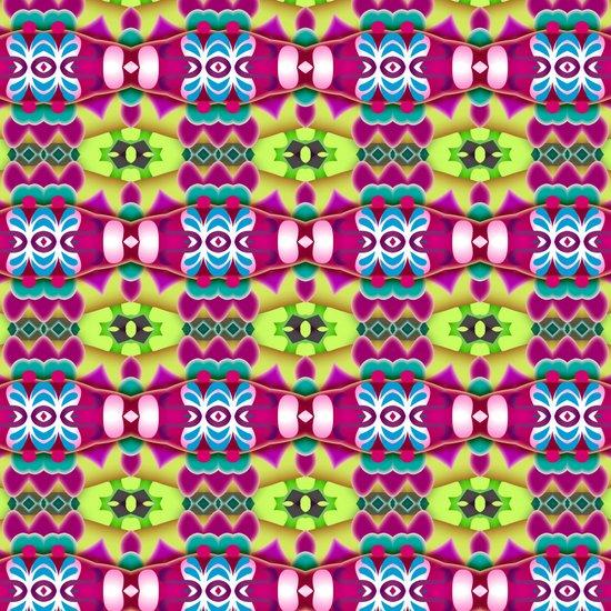 Totem Pattern Art Print