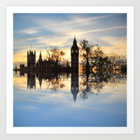 Westminster woods Art Print